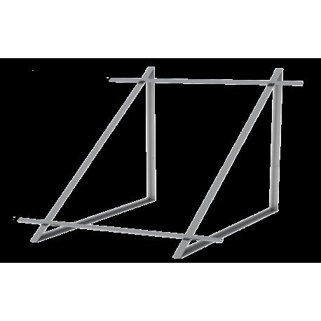 Zestaw montażowy do 2 kolektorów DP 2,0 - dach płaski