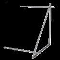DP 2,0 - Zestaw montażowy uzupełniający do 1 kolektora DP 2,0 - dach płaski